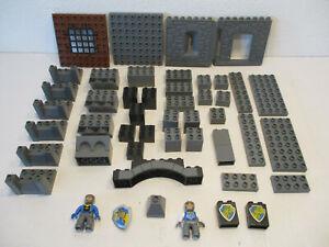 ( RB6 / 10 ) LEGO Duplo Ritter Ritterburg Ergänzung Zubehör 4672 4777 4785