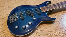 Electric Bass with flamed top,precision and jazz sound, in one!NO Gibson Fender