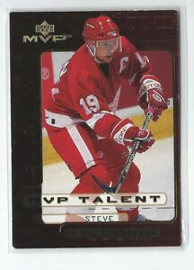 Steve Yzerman 1999/00 Upper Deck MVP Talent Card #MVP6