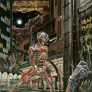 Iron Maiden Somewhere In Time Us Lp Original Issue