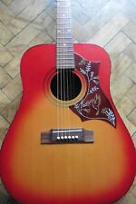 ♫ Vintage Japanese Hummingbird Pre Lawsuit Acoustic Guitar 1960's Luthier Setup