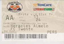 Sammler Used Ticket / Entrada Heracles Almelo v FC Twente Enschede 20-08-2006