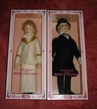 2 VTG Steiff Filzpuppe-Gentleman in Morning Coat-Tennislady Betty-$650-Mint-NIB-