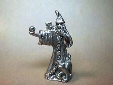 Pewter Wizard miniature magic sorcery fantasy ad&d pathfinder d&d