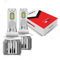 LASFIT 9005 HB3 LED Headlight Bulb High Beam Conversion Kit 6000K 5000LM White