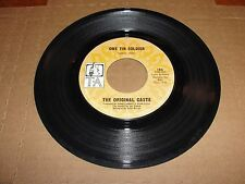 THE ORIGINAL CASTE One Tin Soldier - Live For Tomorrow TA Label 45 Anti-War 1969