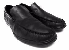Cole Haan mens size 12 M Black leather loafers comfort dress or casual