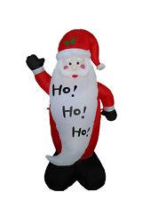 Christmas Inflatable LED Air Blown Yard Garden Decoration Santa Claus Greeting
