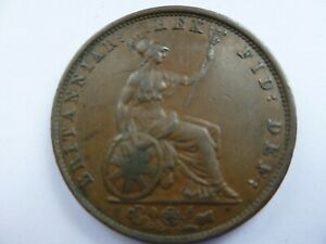 Rare 1837 William IV Half Penny.