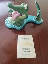 WDCC Walt Disney Tick Tock Croc Crocodile Peter Pan Retired