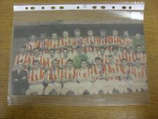 """1961/1962 Autograph(s): Stoke City - Team Group [12""""x 6""""] Hand Signed By 11  (Co"""