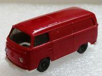 Wiking ( 300/11C ) - VW T2 Kastenwagen , rot   - T@P Zustand