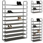 Étagères à chaussures armoire placard 4/8/10 niveaux meuble rangement chaussure