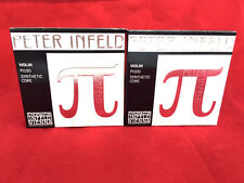2 x Thomastik Peter Infeld Violin String  Set 4/4 with Platinum E