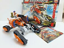 LEGO Exo-Force - Mobile Defence Tank (7706) - Orange Battle Tank, Laser Cannon