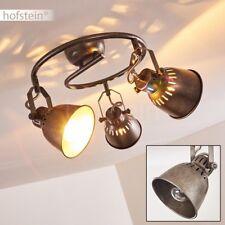 Plafonnier argenté Lustre Retro Lampe à suspension 3 branches Lampe de cuisine