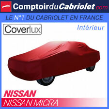 Housse / Bâche protection Coverlux Nissan Micra en Jersey