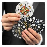 Poker Chip Playing Cards Card Games Novelty Gift Xmas Stocking Secret Santa
