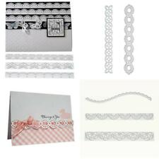 Metal Lace Border Cutting Dies Scrapbooking Embossing Paper Card Craft Mold DIY