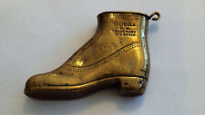 Feuerzeug Herrenschuh Messing CALIGULA R. K. TRADE MARK Benzin