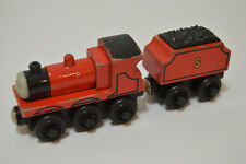 Thomas & Friends Wooden Railway James And Tender Engine Train