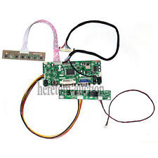 HDMI+DVI+VGA+Audio LCD Controller Board For M185BGE-L23 HT185WX1-300 1366X768