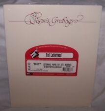 Letterhead Computer Printer Paper Stationary Season's Greetings Christmas Foil 2