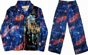 The Mighty Avenger Thor movie 2 piece Pajamas set 4 5 6 7 8 10 12 Sleepwear boys