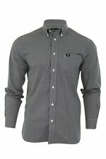 Fred Perry Checked Long Sleeve Casual Shirts & Tops for Men