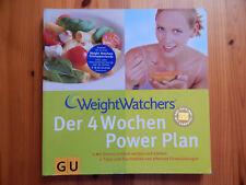 Weight Watchers: Der 4 Wochen Power Plan GU Buch: Abnehmen/Ernährung/Gesundheit