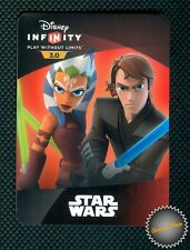 CARTE CARD WEB CODE DISNEY INFINITY 3.0 : TWILIGHT OF THE REPUBLIC PLAYSET