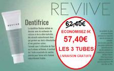 Dentifrice Sans Fluor Sans Paraben Naturel Vegan Enfant Adulte Reviive Ariix