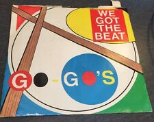 """Vinyl 45 Record """"We Got The Beat/ Can't Stop The World"""" Go-Go's IR-9903"""