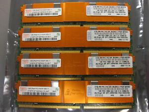 Hynix 4GB (4x1GB) 2Rx8 PC2-5300F DDR2 667Mhz Server Memory HYMP512F72BP8D2-Y5