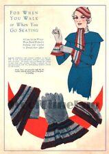 Vintage Crochet & Knitting Pattern Lady's 1920/30s Hat/Scarf/Gloves set