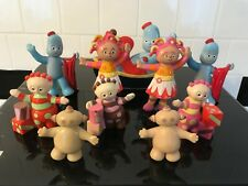 In The Night Garden Small Figure Bundle Toy Set Iggle Piggle, Upsy daisy Etc