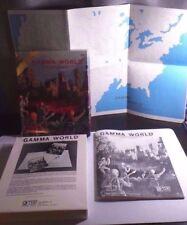 Gamma World 1st Edition 3rd Print Box Set TSR 3002 Post Apocalyptic RPG EXC!