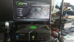Xbox original xecuter 3ce mod chip 500GB hdd, XBMC