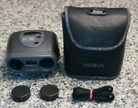 Minolta Compact AF 10 10 x 23Auto-Focus Powered Binoculars W/ Carry Case Tested
