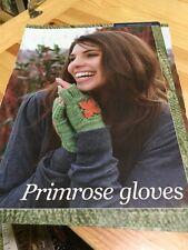 Ladies Lace Primrose Fingerless Gloves Knitting Pattern