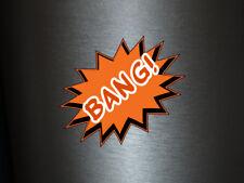 1 x adhesivo Bang! comic hechizo Boom Bang! Bazinga sticker tuning decal Fun gag