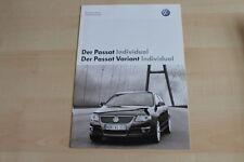 74070) VW Passat + Variant individual - Technik & Preise & Extras - Prospekt 11/