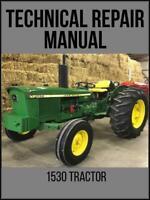 John Deere 1530 Tractor Technical Manual TM4280 On USB Drive