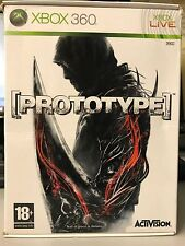 MICROSOFT XBOX 360 PROTOTYPE LIMITED COLLECTOR EDITION + ACTION FIGURE PAL ITA