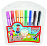 Stabilo Trio Scribbi Chunky Felt / Fibre Tip Pens Wallet of 8 Assorted Colours