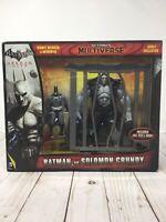 Arkham City Batman Vs Solomon Grundy Figures Box Set MIB DC Comics Multiverse T8