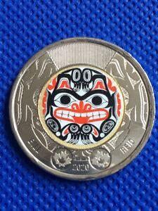 2020 Canada Bill Reid $2 dollar Toonie Coin Uncirculated
