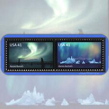 2007  POLAR LIGHTS Aurora Borealis  PAIR of 2 MINT 41¢ Stamps w/BONUS #4203-4204
