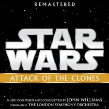 John Williams - Star Wars - Attack of the Clones - New Remastered CD
