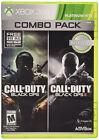 Call of Duty: Black Ops 1 & 2 (Microsoft Xbox 360, 2015)